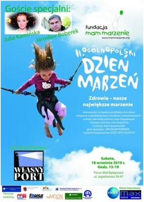 Koncert Własnego Portu z okazji Ogólnopolskiego Dnia Marzeń, Fundacja Mam Marzenie